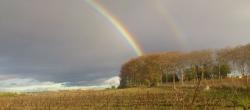 Arc en ciel au dessus de la Gourgasse-Neuve