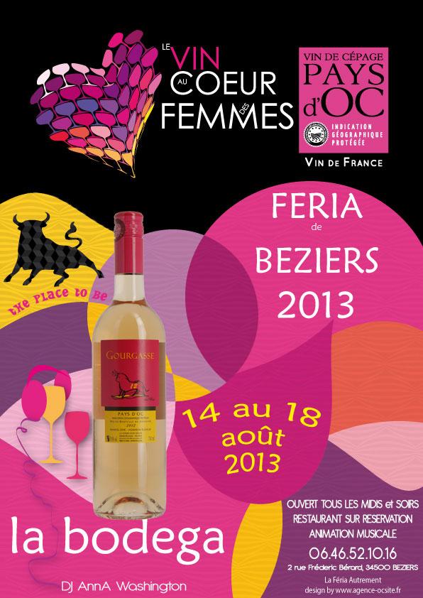 Feria 2013 avec le Toro Rosé de la Gourgasse Neuve